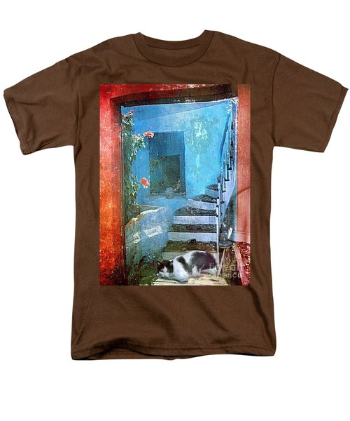 Secret Space Men's T-Shirt  (Regular Fit) by Alexis Rotella