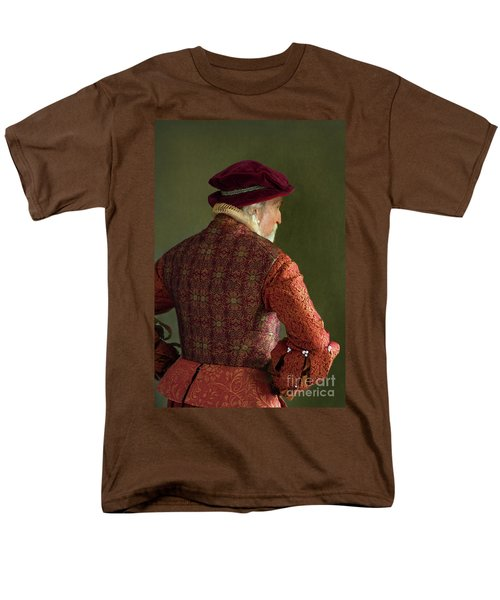 Senior Tudor Man Men's T-Shirt  (Regular Fit) by Lee Avison