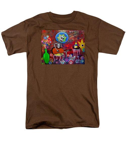 Serenata II Men's T-Shirt  (Regular Fit) by Pristine Cartera Turkus