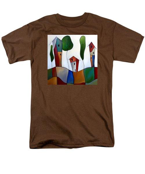 Settling Down Men's T-Shirt  (Regular Fit) by Tom Fedro - Fidostudio