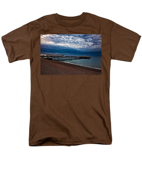Seven Am On Brighton Seafront Men's T-Shirt  (Regular Fit) by Chris Lord