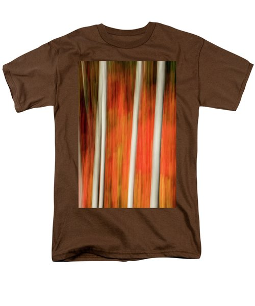 Shades Of Amber And Marmalade  Men's T-Shirt  (Regular Fit) by Dustin LeFevre