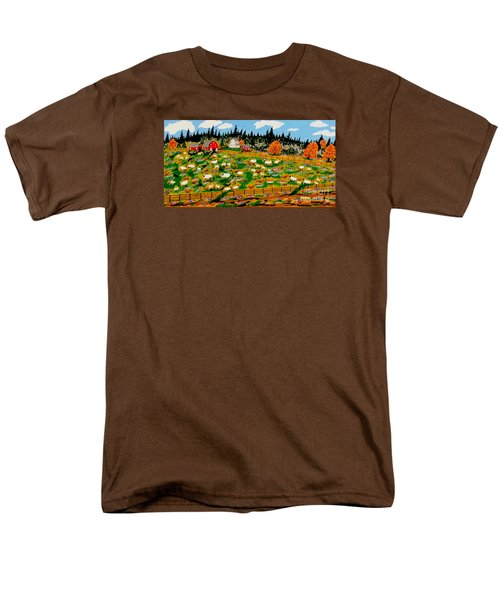 Sheep Farm Men's T-Shirt  (Regular Fit)