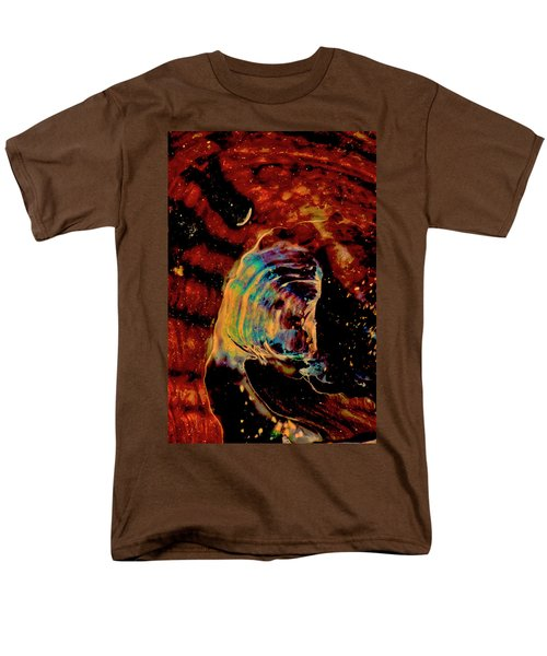 Shell Space Men's T-Shirt  (Regular Fit) by Gina O'Brien