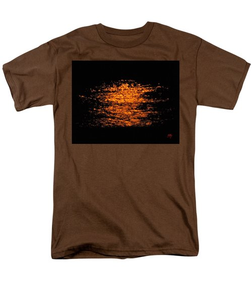Men's T-Shirt  (Regular Fit) featuring the photograph Shimmer by Linda Hollis