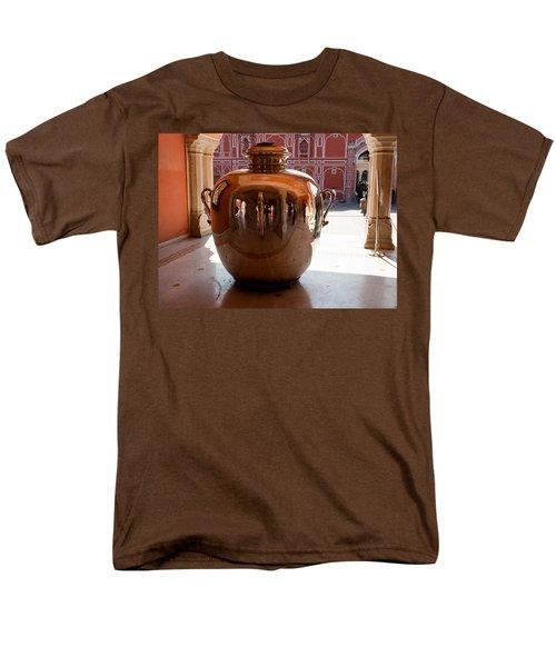 Silver Water Urn Jaipur Men's T-Shirt  (Regular Fit) by Ashish Agarwal