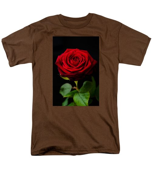 Single Rose Men's T-Shirt  (Regular Fit) by Miguel Winterpacht