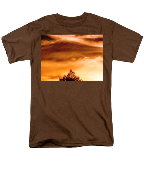 Men's T-Shirt  (Regular Fit) featuring the photograph Eye Of Jupiter by Melissa Stoudt