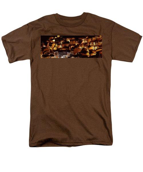 Small Village Men's T-Shirt  (Regular Fit) by Thomas M Pikolin