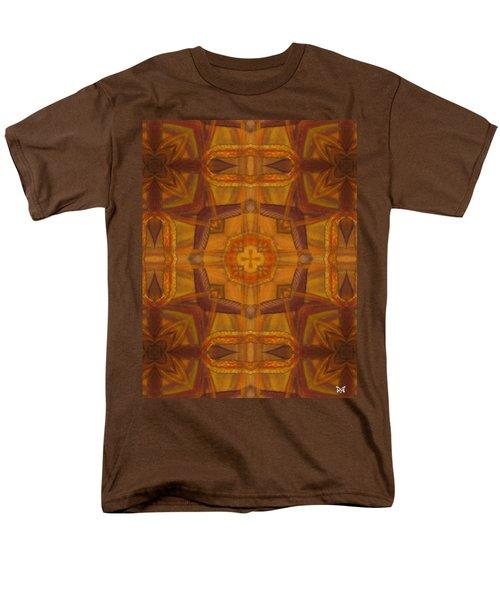 Snake Cross Men's T-Shirt  (Regular Fit) by Maria Watt