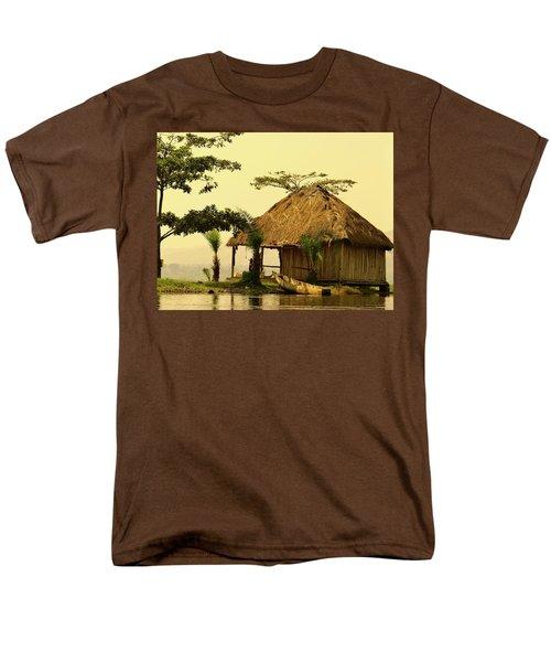 Source Of The Nile Men's T-Shirt  (Regular Fit) by Exploramum Exploramum