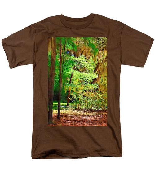 Men's T-Shirt  (Regular Fit) featuring the photograph Southern Forest by Donna Bentley