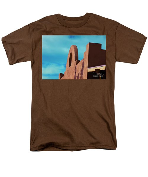 Men's T-Shirt  (Regular Fit) featuring the photograph Southwest Architecture by Anne Rodkin