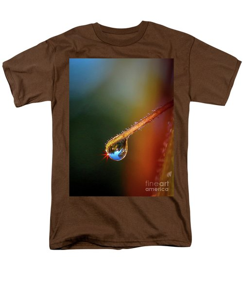 Sparkling Drop Of Dew Men's T-Shirt  (Regular Fit) by Tom Claud