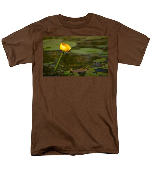 Men's T-Shirt  (Regular Fit) featuring the photograph Spatterdock by Jouko Lehto