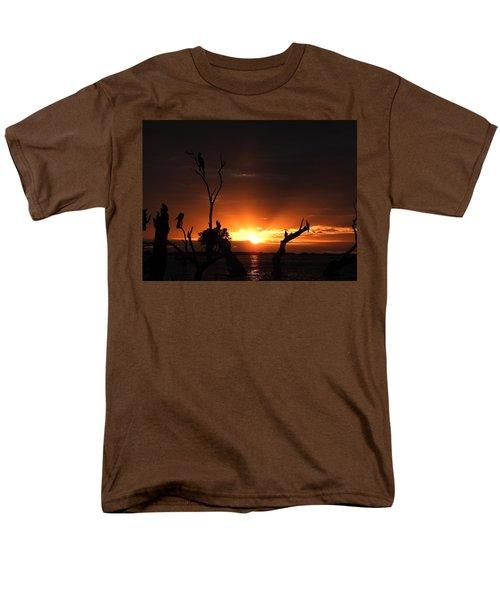 Spectacular Sunset Men's T-Shirt  (Regular Fit) by Betty-Anne McDonald