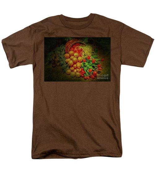 Spilled Barrel Bouquet Men's T-Shirt  (Regular Fit) by Sandy Moulder
