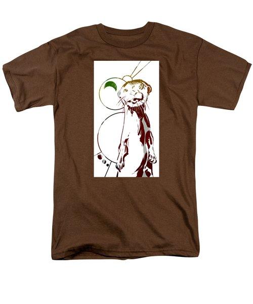 Spirit Animal . Otter Men's T-Shirt  (Regular Fit) by John Jr Gholson