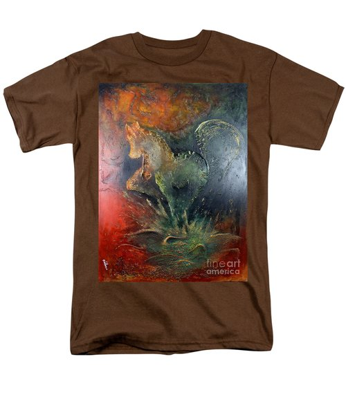 Spirit Of Mustang Men's T-Shirt  (Regular Fit) by Farzali Babekhan