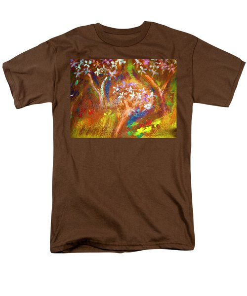 Men's T-Shirt  (Regular Fit) featuring the painting Spring Blossom by Winsome Gunning