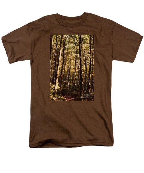 Men's T-Shirt  (Regular Fit) featuring the photograph Spring Forest by Jean Bernard Roussilhe