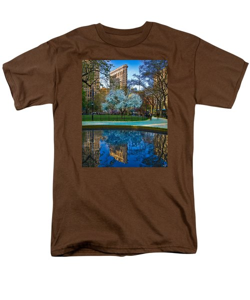 Spring In Madison Square Park Men's T-Shirt  (Regular Fit) by Chris Lord