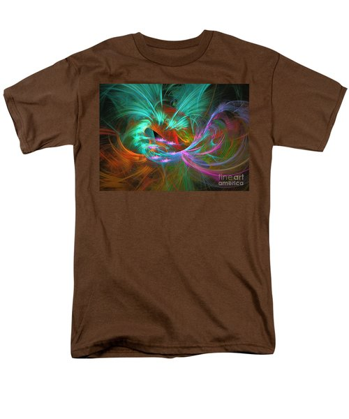 Men's T-Shirt  (Regular Fit) featuring the digital art Spring Riot by Sipo Liimatainen