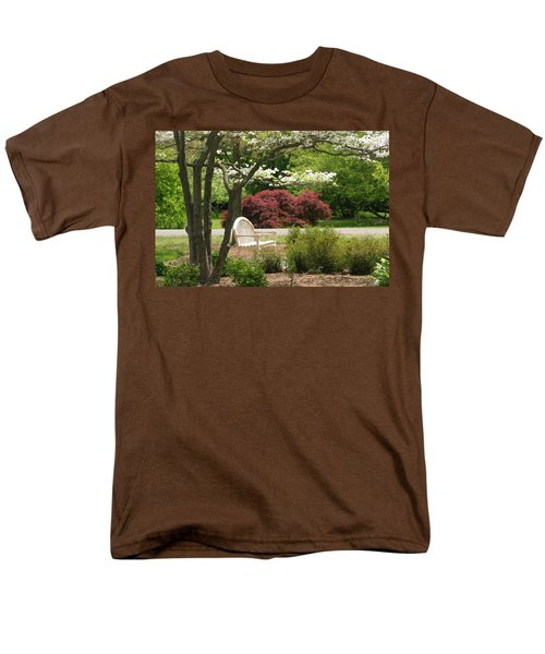 Spring Seating Men's T-Shirt  (Regular Fit) by Living Color Photography Lorraine Lynch