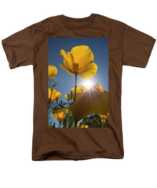 Spring Starburst Men's T-Shirt  (Regular Fit) by Sue Cullumber