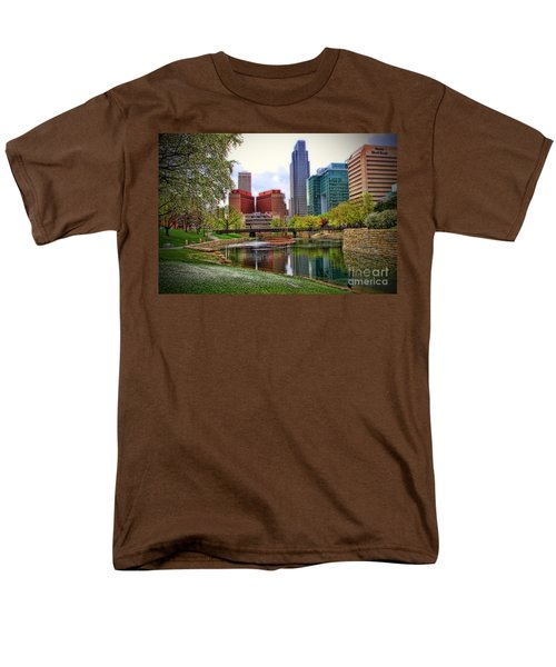 Springtime In Omaha Men's T-Shirt  (Regular Fit)