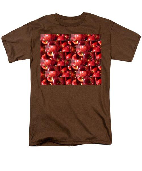 Square Apples Men's T-Shirt  (Regular Fit) by Tina M Wenger