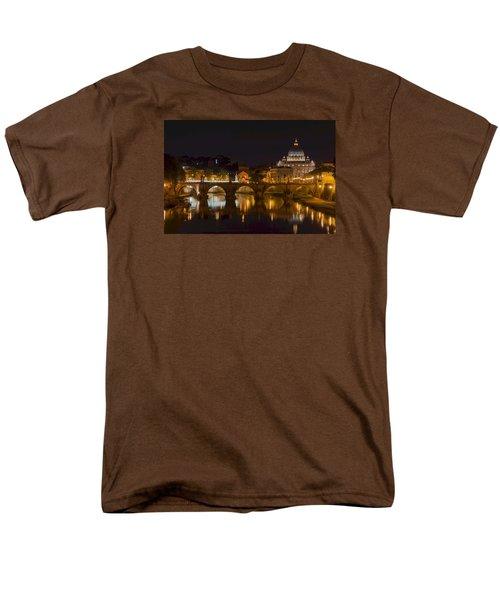 St. Peter's Basilica-655 Men's T-Shirt  (Regular Fit) by Alex Ursache