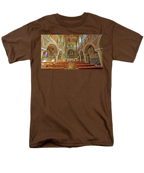 Men's T-Shirt  (Regular Fit) featuring the photograph St Stephen's Basilica by Uri Baruch