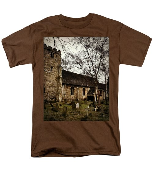 Men's T-Shirt  (Regular Fit) featuring the photograph St. Thomas The Martyr by Persephone Artworks