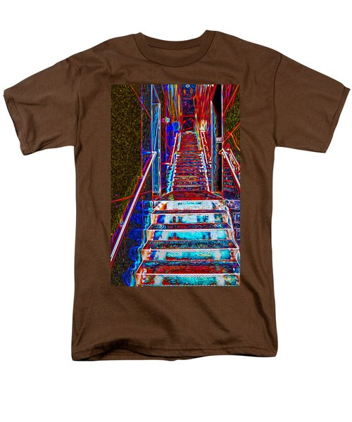 Stairway To Bliss Men's T-Shirt  (Regular Fit) by Phil Cardamone