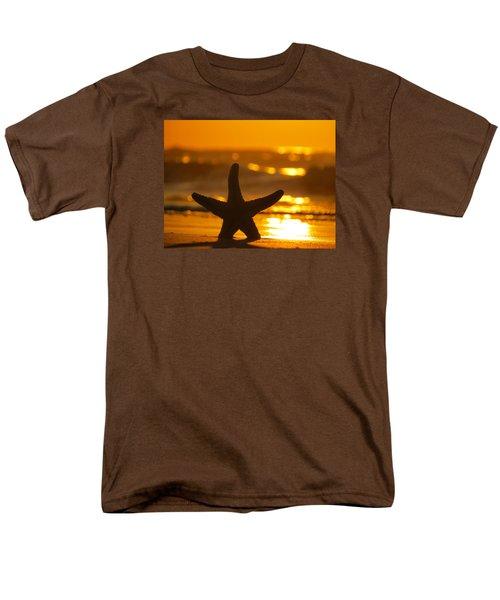 Men's T-Shirt  (Regular Fit) featuring the photograph Star Bokeh by Nikki McInnes