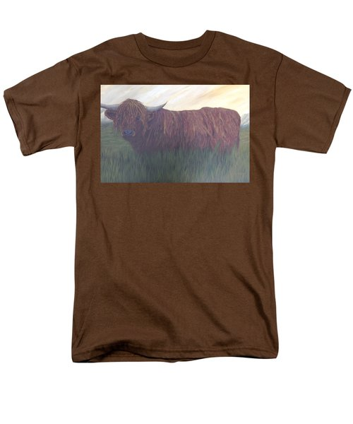 Stare Down Men's T-Shirt  (Regular Fit) by T Fry-Green