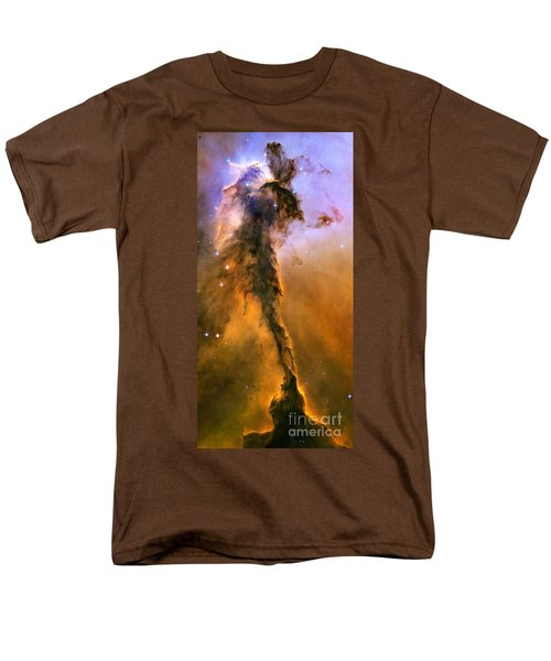Stellar Spire In The Eagle Nebula Men's T-Shirt  (Regular Fit)