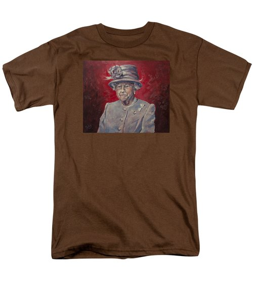 Stiff Your Upperlip And Carry On Men's T-Shirt  (Regular Fit) by Nop Briex