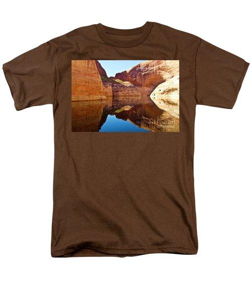 Still Waters Men's T-Shirt  (Regular Fit) by Kathy McClure