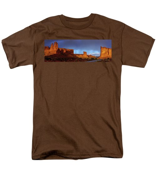 Men's T-Shirt  (Regular Fit) featuring the photograph Stormy Desert by Chad Dutson