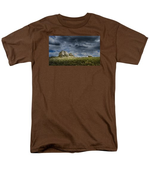 Stormy Peak 1 Men's T-Shirt  (Regular Fit) by Mary Angelini