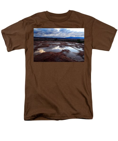 Men's T-Shirt  (Regular Fit) featuring the photograph Stormy Sunrise by Harry Spitz