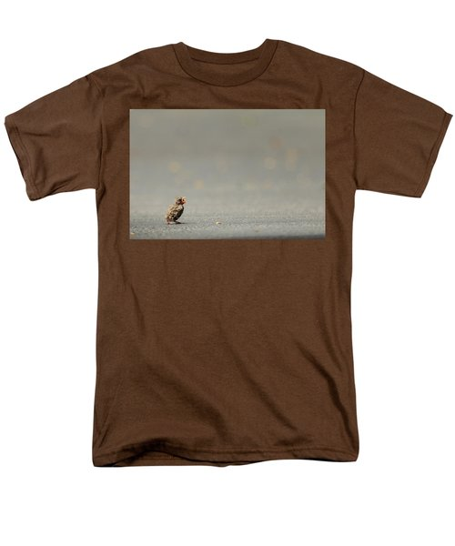 Story Of The Baby Chipping Sparrow 3 Of 10 Men's T-Shirt  (Regular Fit) by Joni Eskridge
