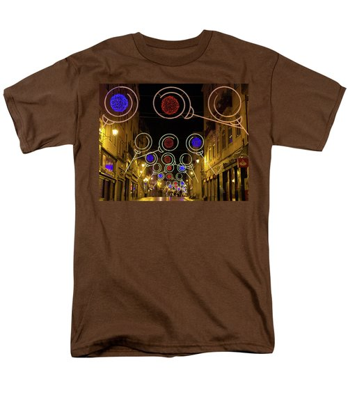 Men's T-Shirt  (Regular Fit) featuring the photograph Street In Coimbra by Patricia Schaefer