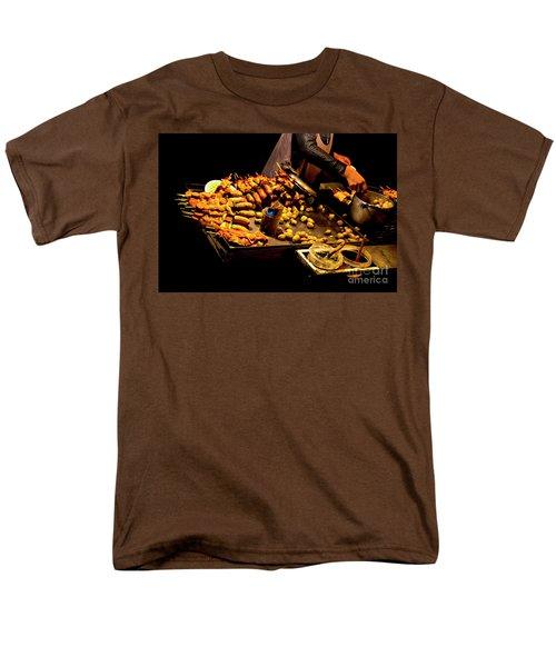Men's T-Shirt  (Regular Fit) featuring the photograph Street Meat by Al Bourassa
