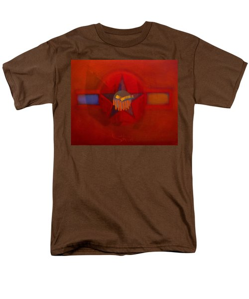 Men's T-Shirt  (Regular Fit) featuring the painting Sub Decal by Charles Stuart