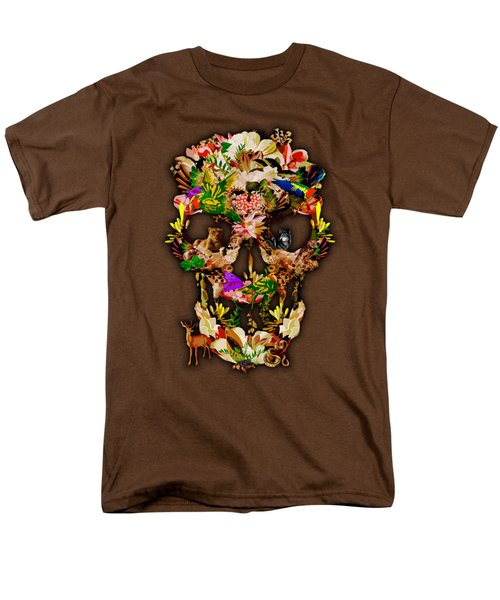 Sugar Skull Animal Kingdom Men's T-Shirt  (Regular Fit) by Three Second