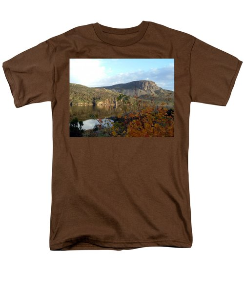 Sugarloaf Hill In Autumn Men's T-Shirt  (Regular Fit) by Barbara Griffin