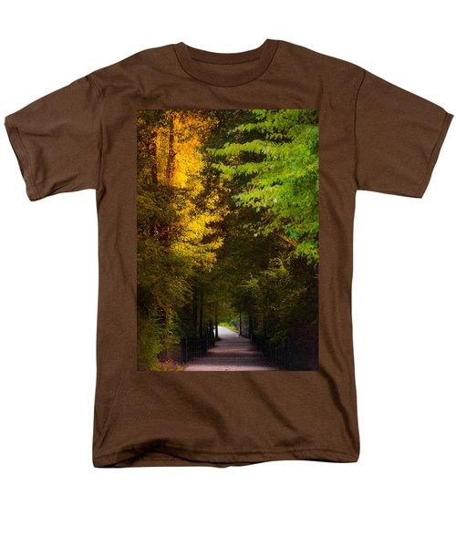 Summer And Fall Collide Men's T-Shirt  (Regular Fit) by Parker Cunningham